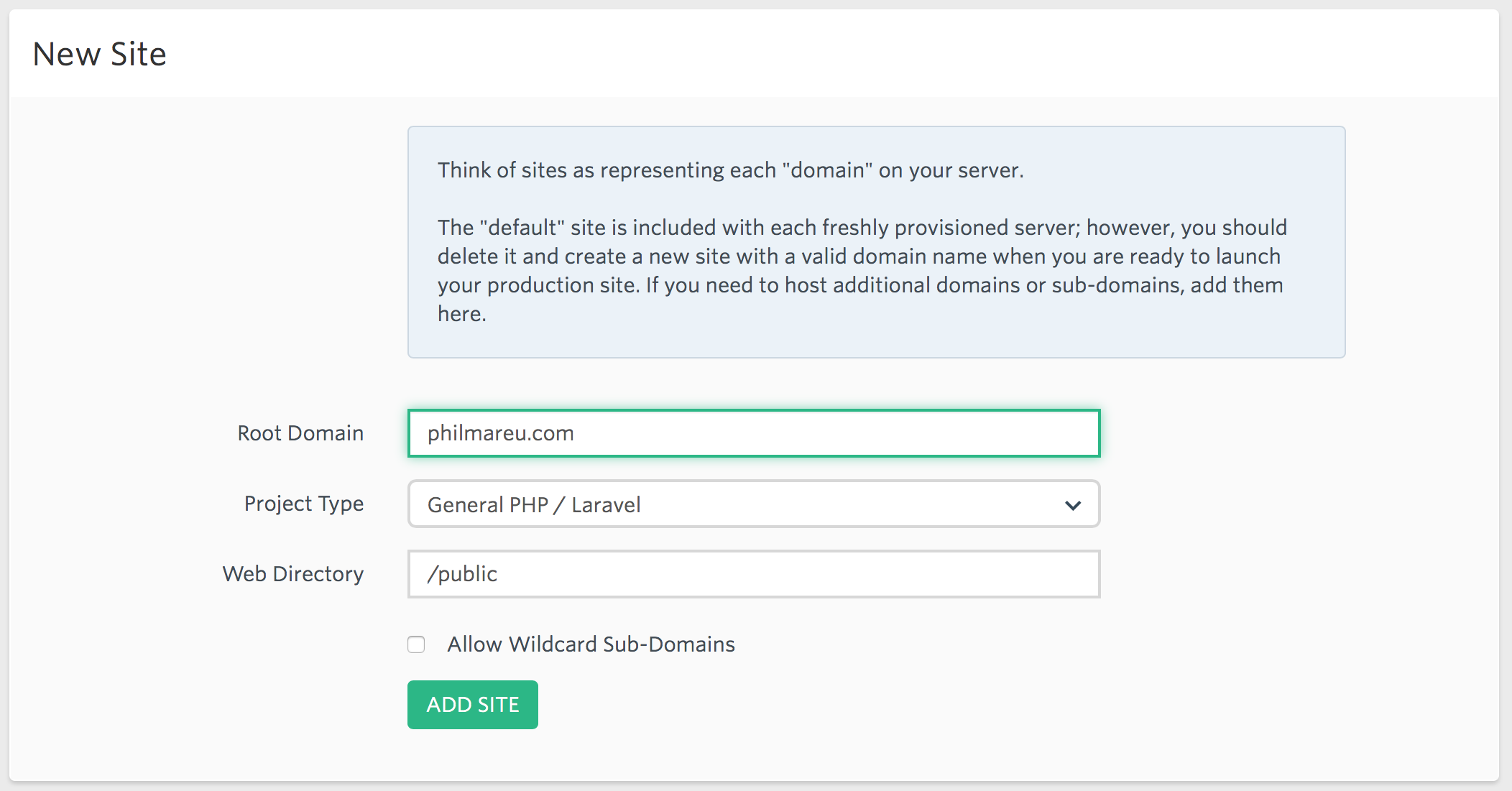 Phil Mareu   Transferring a Laravel application from one host to